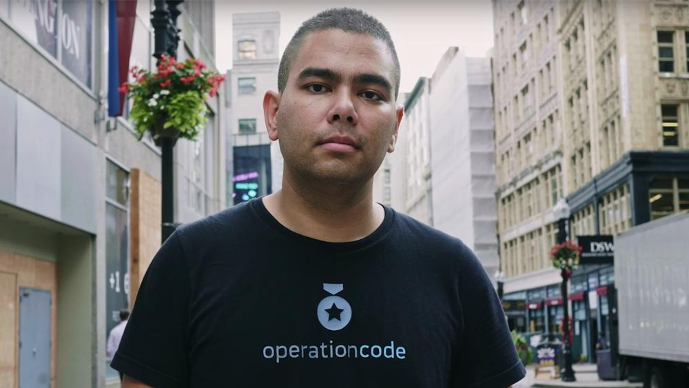He helps veterans make software
